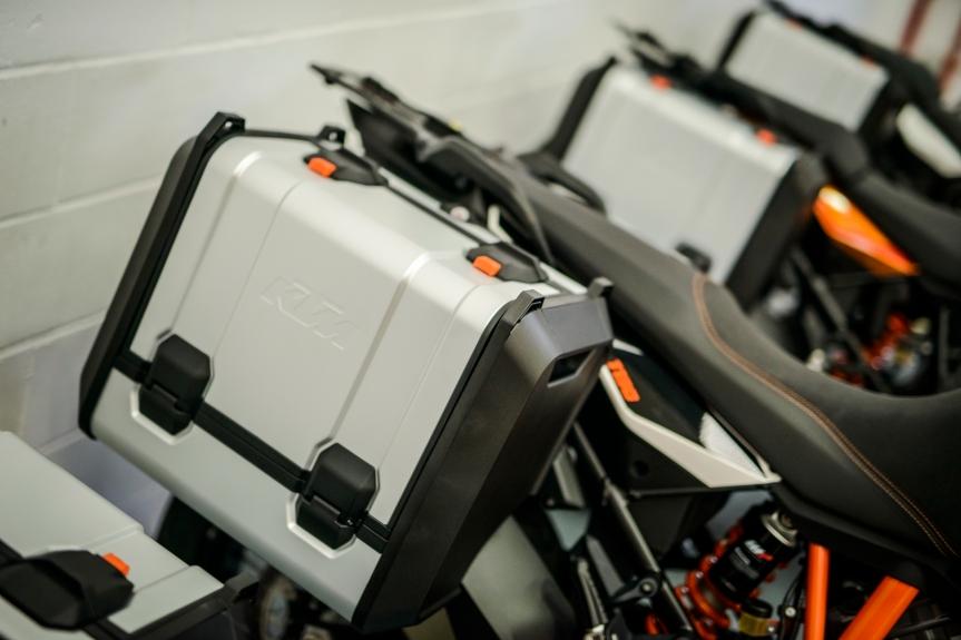Neuer Kofferträger für KTM Adventure-Modelle!