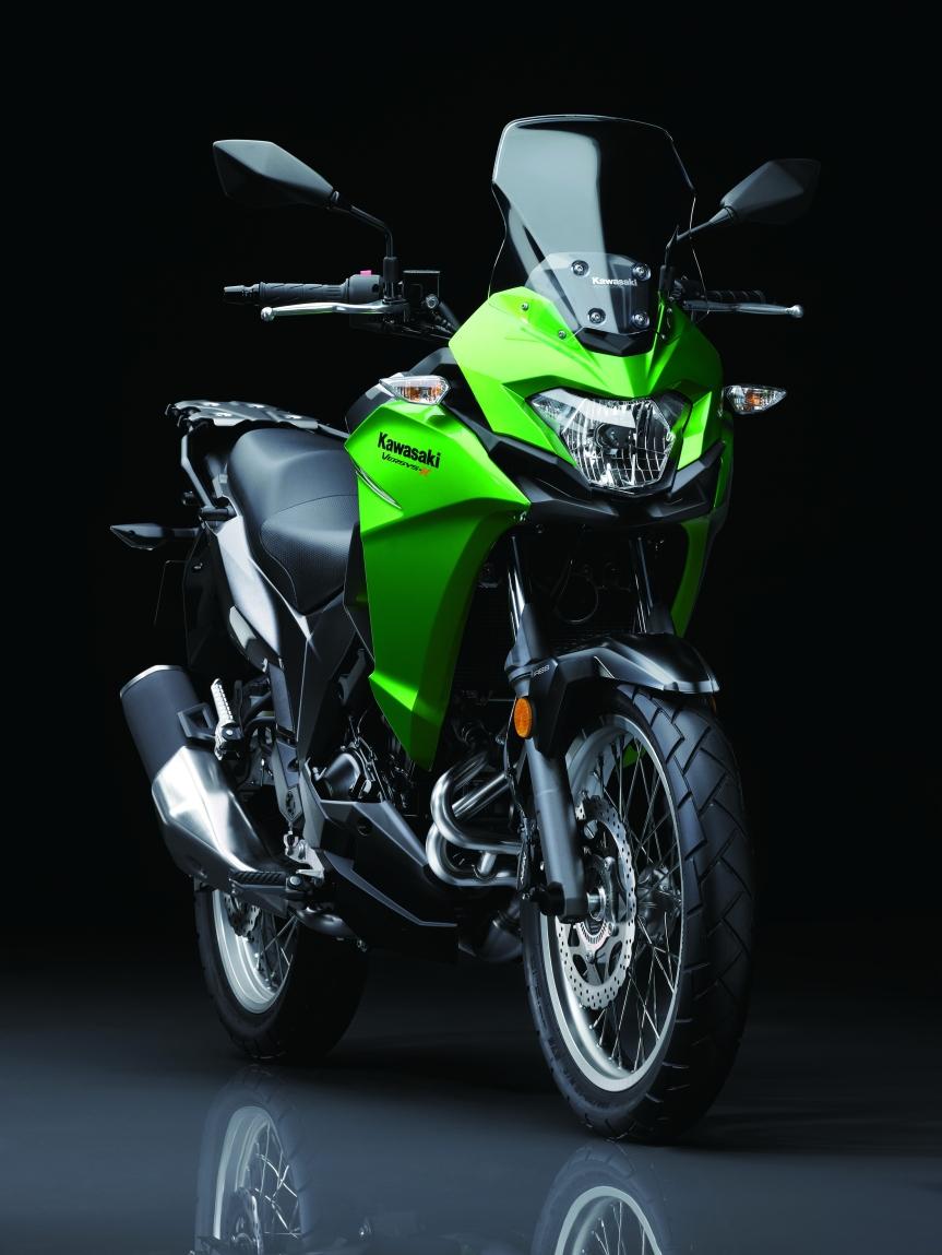 """Kawasaki erweitert mit der neuen Versys-X 300 das Konzept """"Für jeden Zweck einBike"""""""