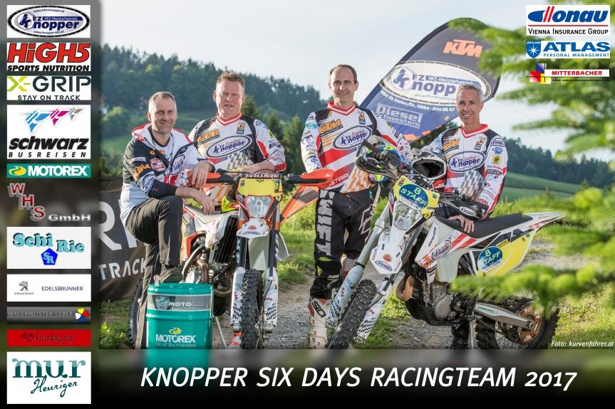Knopper Racingteam vertritt Österreich beiISDE!