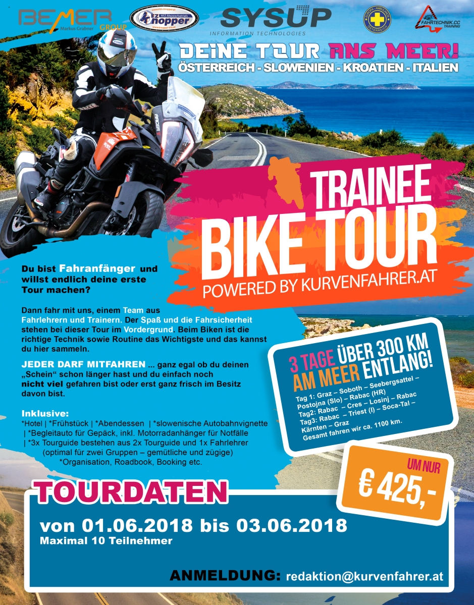 2. Kurvenfahrer.at Trainee-Tour 2018