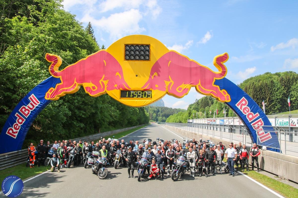 Motorradtraining der Polizei Salzburg