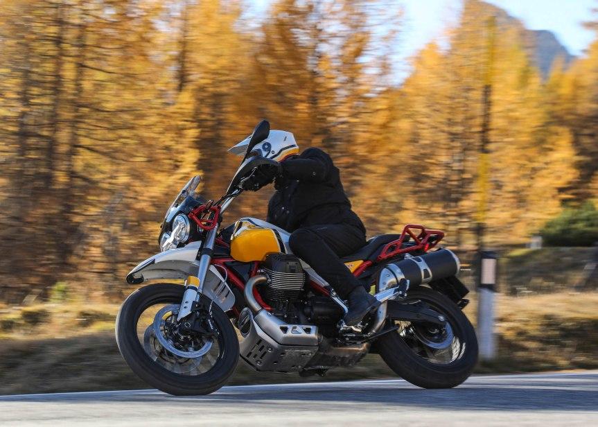 MOTO GUZZI V85 TT ist inProduktion