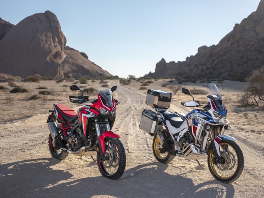 2020 Honda Africa Twin und Adventure Sports… sie sindda!!!