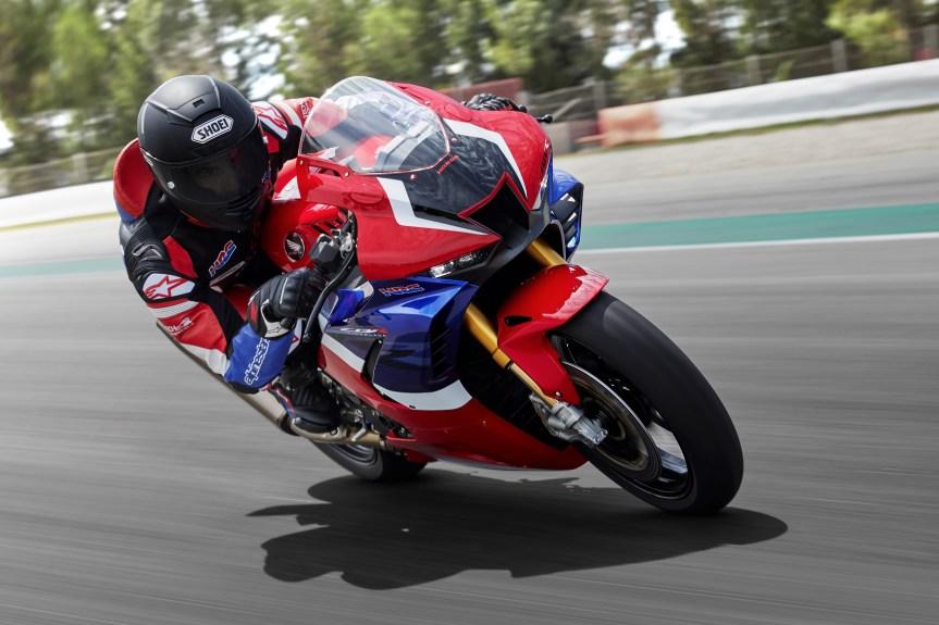 Weltpremiere der neuen Honda Fireblade inMailand!